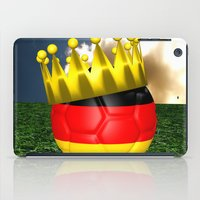 world cup iPad Cases featuring World Cup Champion 2014 by Littlebell