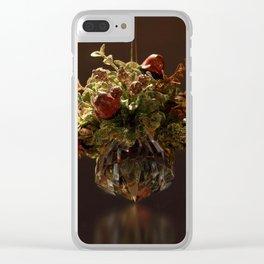 Crystal Mistletoe Clear iPhone Case