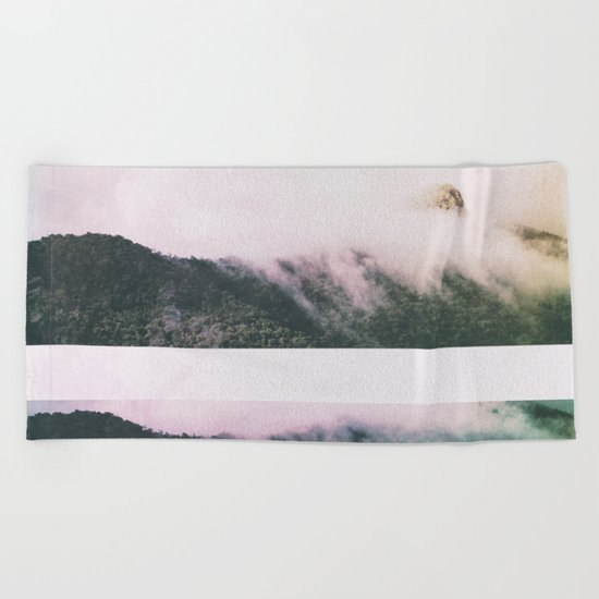 Fractions A76 Beach Towel