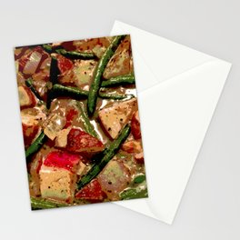 Vegetables Cooking Stationery Cards