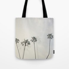 Double Exposure Palms 1 Tote Bag