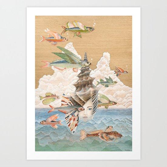 Sea dream Art Print