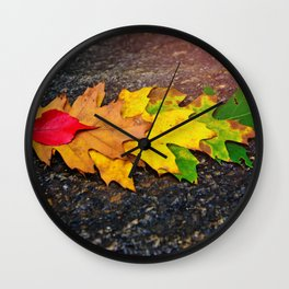 Fall Collection 2016 Wall Clock