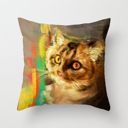 Hachi Throw Pillow