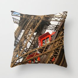 Emerging From The Inside Throw Pillow