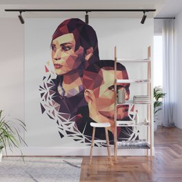 Facets of Shepard Wall Mural