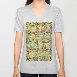 Emoji Madness Unisex V-Neck