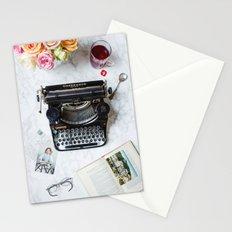 Typewriter Love. Stationery Cards