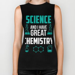 Gift Ideas For Chemistry Lover. Biker Tank