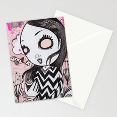 I lost my eyeballs. Stationery Cards