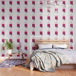Square Tree Pattern Wallpaper