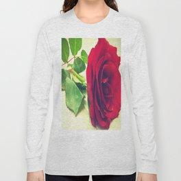Red Rose Long Sleeve T-shirt