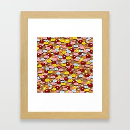 Donut time Framed Art Print