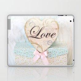 Love Heart Books Laptop & iPad Skin