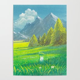 Distant Valley Poster
