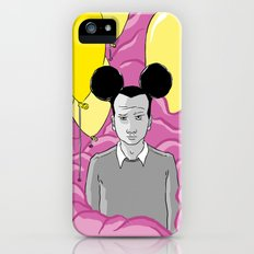 On a Pink Cloud iPhone (5, 5s) Slim Case