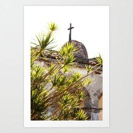 Mission San Juan Capistrano II  //  Travel the World Art Print