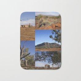 Australian Outback Collage Bath Mat