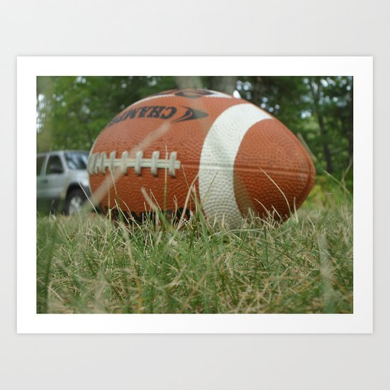 Let's Play Ball Art Print