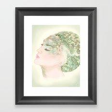 Salacia, Queen of Mermaids Framed Art Print