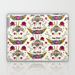 Born To Knit Laptop & iPad Skin