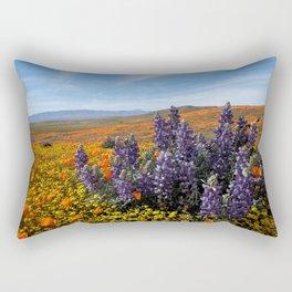 Poppy Field Superbloom Rectangular Pillow