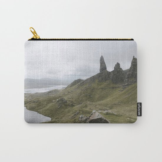 The Old Man of Storr - Landscape Photography Carry-All Pouch
