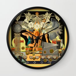 Loomis Square Wall Clock