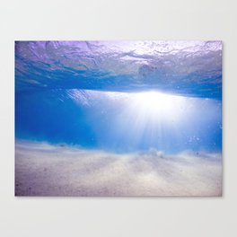 Overhead Lamp  Canvas Print