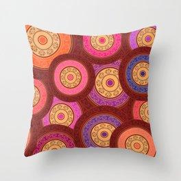 Ethnic Mandala Pattern Throw Pillow