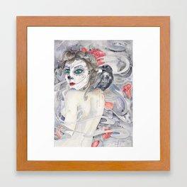 Whispered Dead Framed Art Print