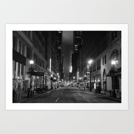 Diamond District Art Print