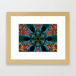 Speaking in Leaves - Cycles, 034 Framed Art Print