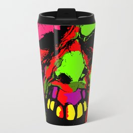 Face from the Crypt Metal Travel Mug