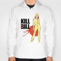 kill bill Hoodies featuring Kill Vampire Bill by AriesNamarie