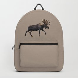 Polygon geometric Moose Backpack
