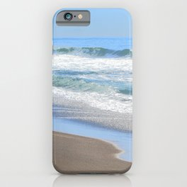 Baby Blue Ocean iPhone Case
