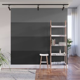 Four Shades of Black Wall Mural