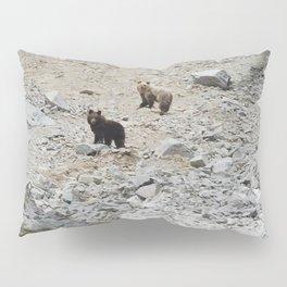 Bear cubs far away Pillow Sham