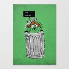 NO! NO! NO! Canvas Print