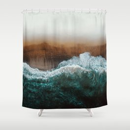Sea 16 Shower Curtain