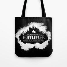 Hufflepuff B&W Tote Bag