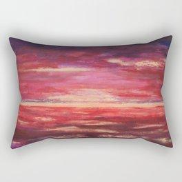 The Golden Lining 3 Rectangular Pillow