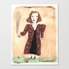 Betty Davis Canvas Print