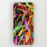 karu kara iPhone & iPod Skins featuring SIMPLY LEAVES by Catspaws