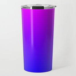 Fuchsia/Violet/Blue Ombre Travel Mug