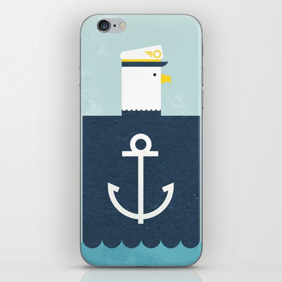 Eagle Captain iPhone & iPod Skin