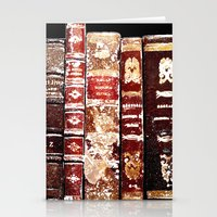 books Stationery Cards featuring Books by Regan's World