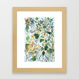 Coral reefs Framed Art Print