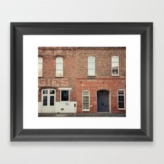 Morris Avenue Birmingham Alabama Framed Art Print